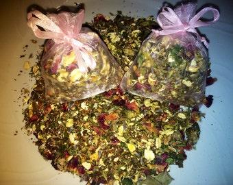 Relaxing lavender bath tea, bath soak, oatmeal bath tea