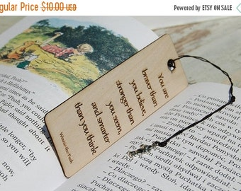 Winter Sale 40% Personalizded Bookmark, Wood Bookmark, Gift for readers, Engraved gift, Custom bookmark, Engraved Bookmark, Gift for him, Gi