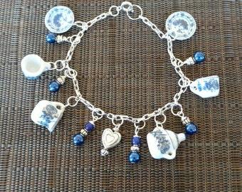 Tea Party Time Charm Bracelet