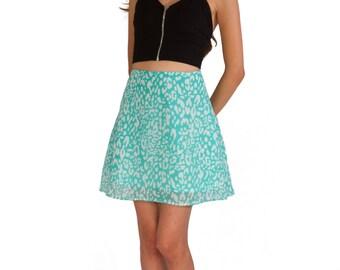 Acua White chiffon skirt - Summer 2016 - Women's Teens' Skirt