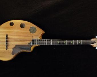 Flat Back Bouzouki, Octave mandolin. Fibonacci shaped.
