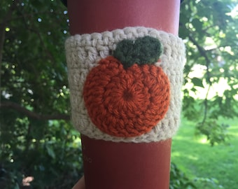 Pumpkin Coffee Cozy Sleeve