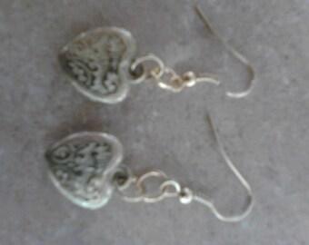 Vintage Gold Locket Earrings