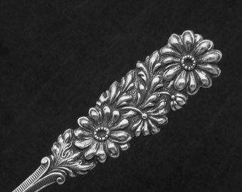 1900s Sterling Silver Souvenir Spoon Congressional Library Washington DC 22349