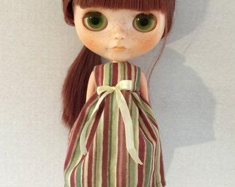 Blythe dress striped
