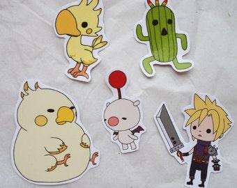 Final Fantasy Theatrhythm Mini Stickers
