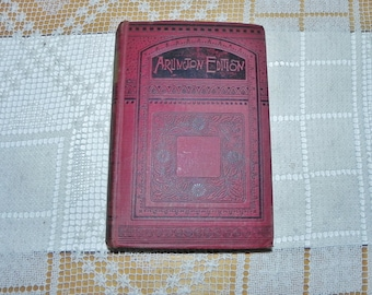 Tom Brown's School Days, Arlington Edition, 1887 6th Ed, Illustrated