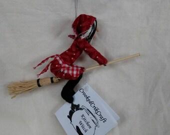 Handmade kitchen witch.