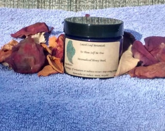 To Thine Self Be True Personalized Honey Mask