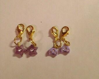 Baby Zipper Charmds / Shoe Jewelry