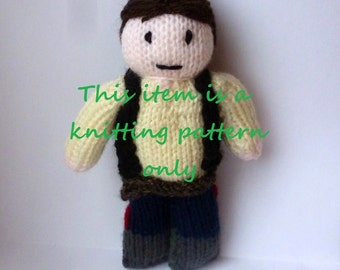 PDF knitting pattern: Han Solo (Star Wars)