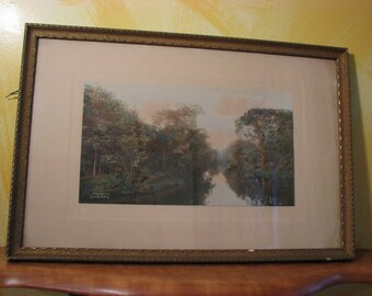 Vintage Wallace Nutting Print