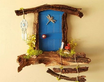 Dragonfly Sedona Fairy Door Made to Order