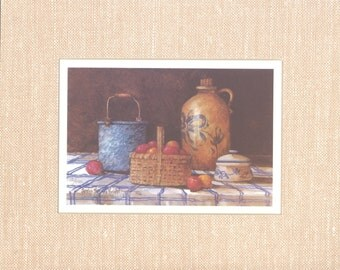 Kitchen Collection II 8 x 10 lithograph