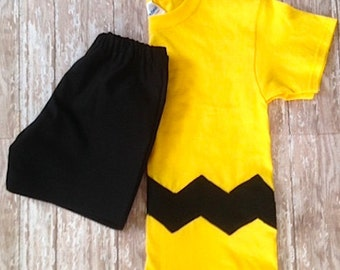 Charlie Brown Outfit Costume