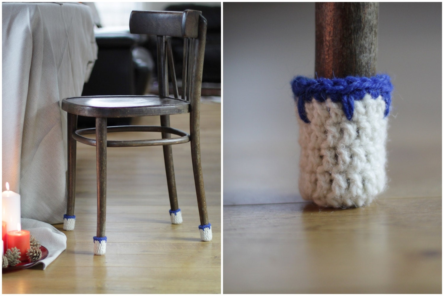 Floor Protector 8 Wool Chair Protectors Chair Leg Socks