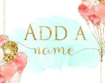 Add on a name