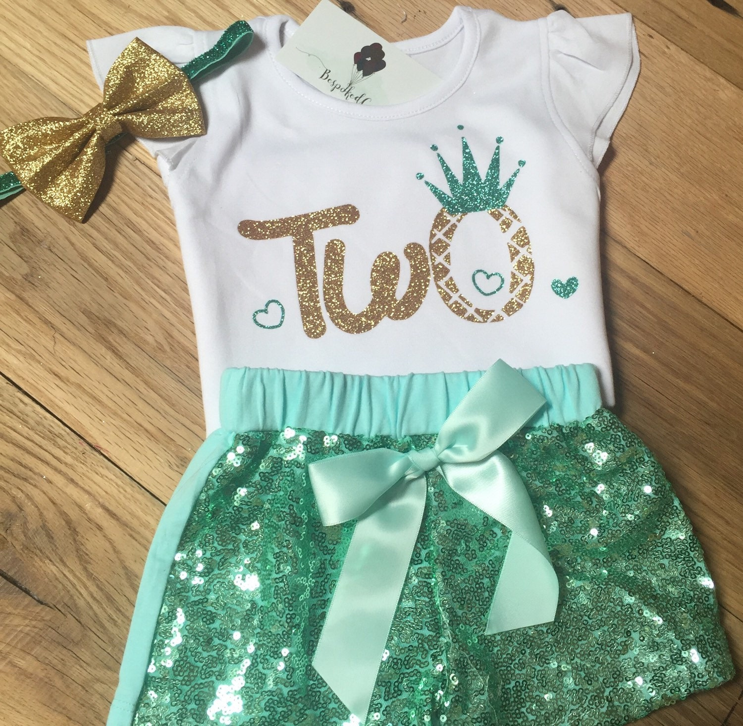 Baby Girl Second Birthday Outfit / Second Birthday Outfit Baby