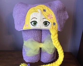 Rapunzel Hooded Towel