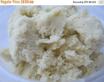 FLASH SALE Unrefined  Shea Butter beige Ghana 16 oz- 1 lb