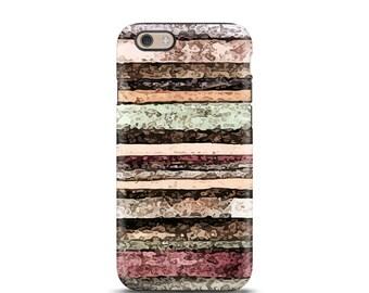 Stripe iPhone 6 case, iPhone 6 Plus, iPhone case, iPhone 7 case, iPhone 6s case, iPhone 6s, personalized iPhone, phone case - Watercolor