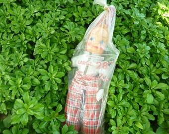 Vintage Kitsch GIANT Doll NOS