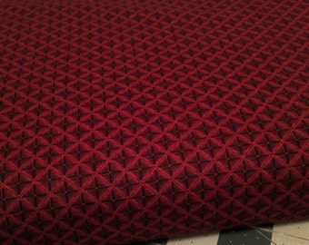 Fabric: HALF YARD - Christmas Gatherings Cranberry 1174 by Primitive Gatherings for Moda Fabrics