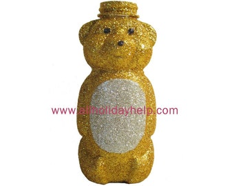 Glitter Bear Flower Vase, Centerpiece