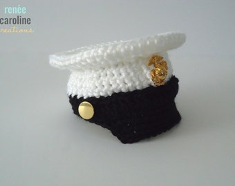 USMC Baby - Crochet Dress Blues Cover - Please Select Size