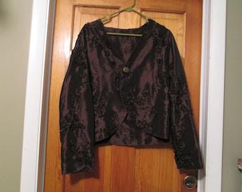 Bordeou Wine Color lite Jacket ,over coat.