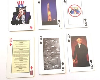 House of Representatives Playing Cards, Spirit of America Deck, Historical Pictures, Gemaco Cards, Presidents, American History USA, Symbols