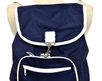 Backpack 80s vintage made in italy