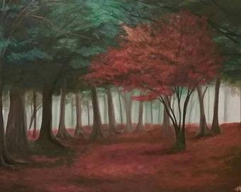 Beautiful Fall Painting
