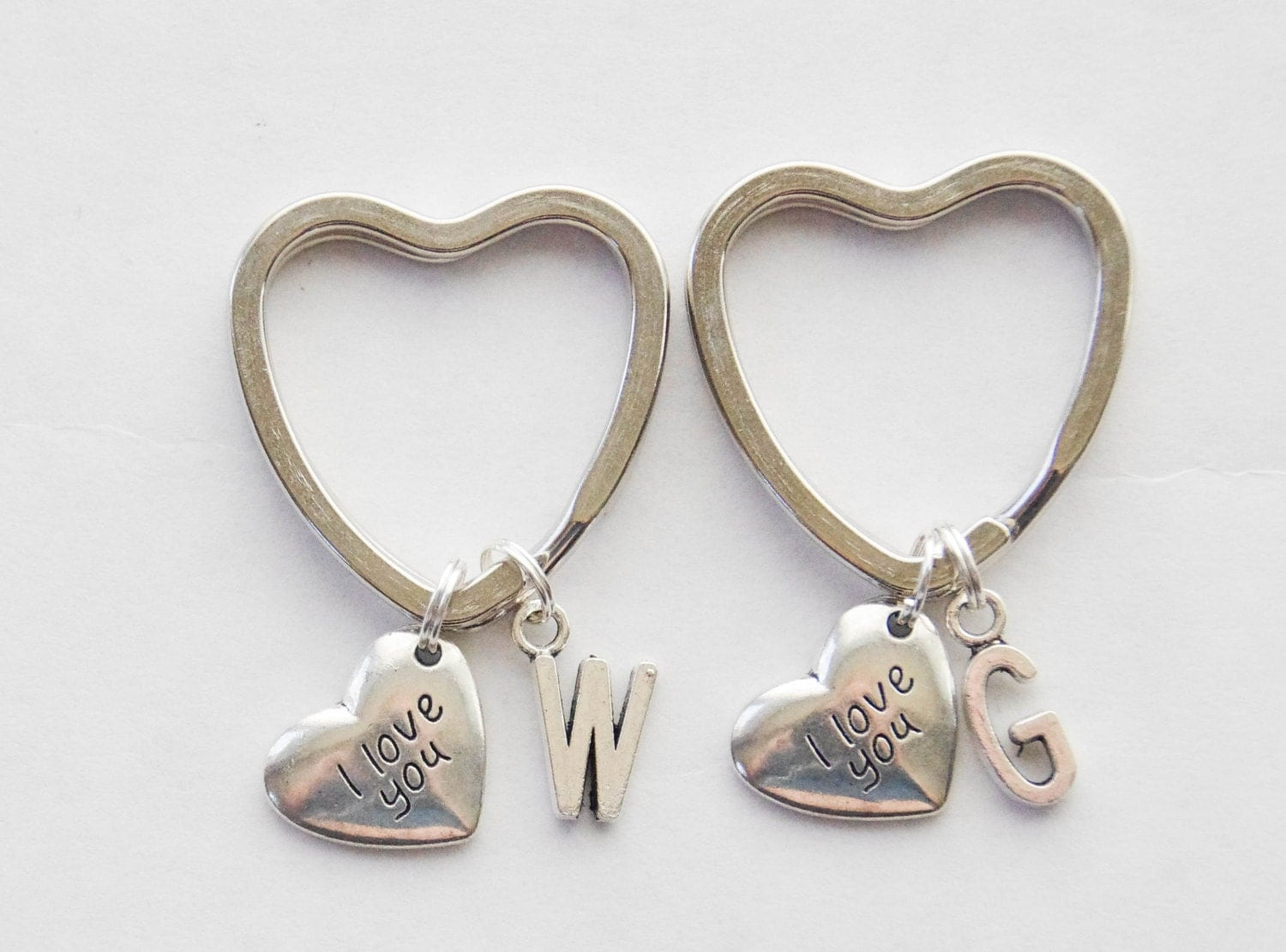 Couple Gifts Keychains 2 Love Wedding Gift Engagement