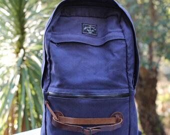 Wheelmen + Co Backpack navy