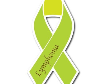 Lymphoma Awareness Sticker/Decal or Magnet