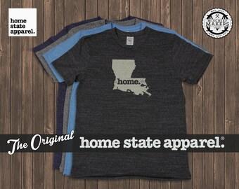 Louisiana Home. shirt- Men's/Unisex