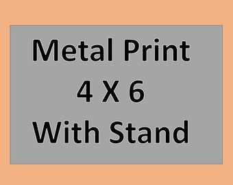 Metal Print - With stand