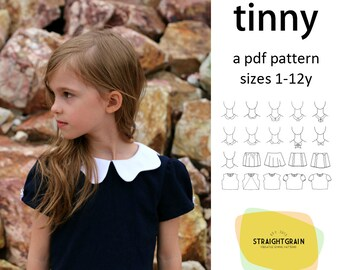 Tinny dress pattern
