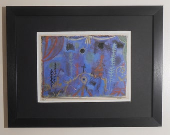 "Mounted and Framed - Hermitage Print by Paul Klee - 16"" x 12"""