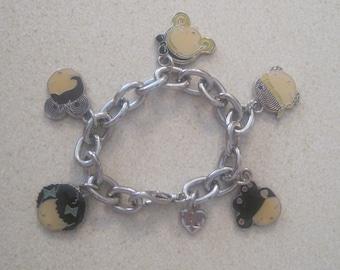 Vintage Harajuku Lovers Charm Bracelet