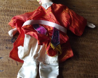 Chinese/Asian/Oriental/Indonesian hand or string puppet