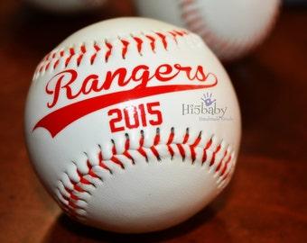 Personalized baseballs/baseball favors/t-ball favors/team favors/baseball party favors/baseball season favors/baseball fans/balls/ sports