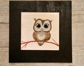 Sweet Little Owl Wall Hanging