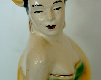Ceramic Figurine Flemanco Dancer