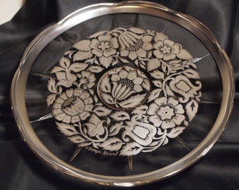 Great Silver Serving Plate - Georges Briard