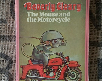 Vintage Beverly Cleary The Mouse and the Motorcycle paperback 1965