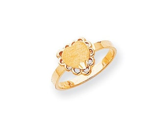 Filigree Heart Signet Ring (JC-1114)