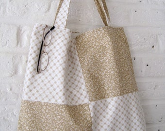 Handmade Recycled Laura Ashley Bag with Waterproof Lining