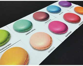 Macarons Sticky Note Memopad Notepad